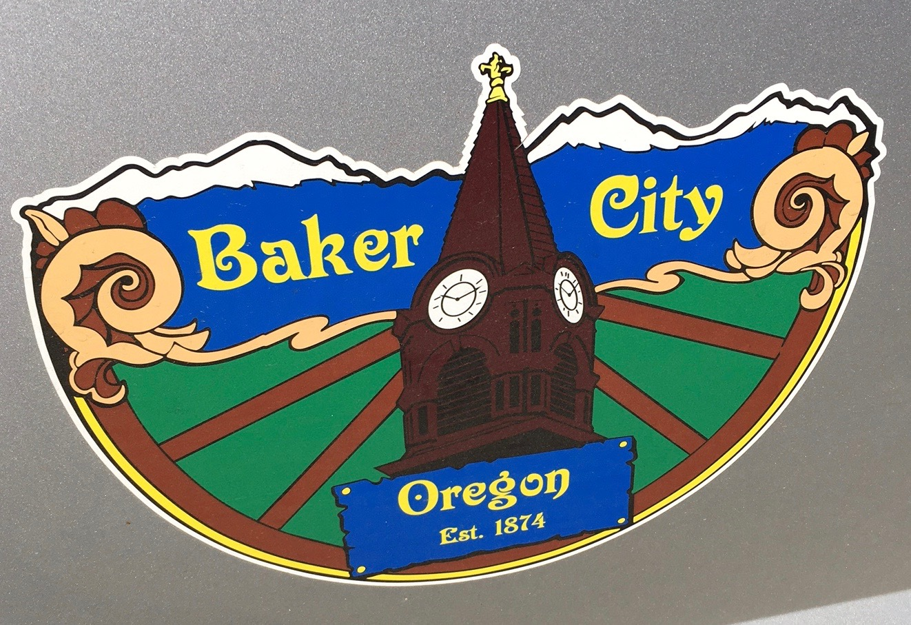 Baker City Sign