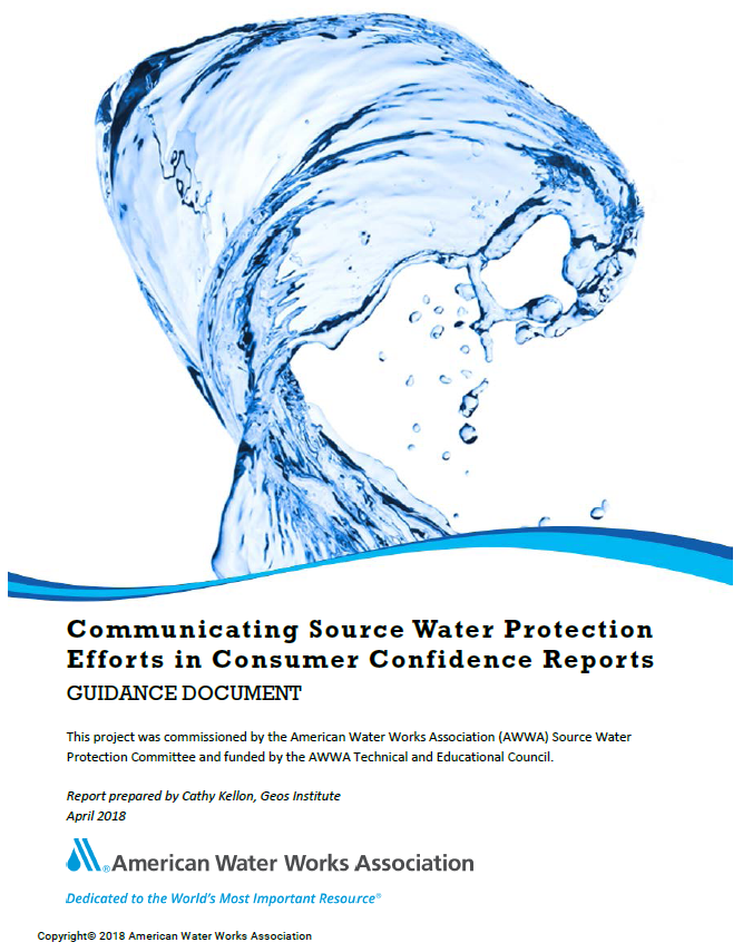 awwa guidance report cover